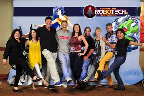 Cast of Robotech 30th anniversary