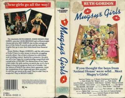 Mugsy's Girls VHS cover