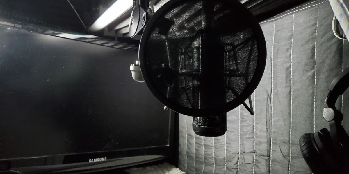 Home recording booth