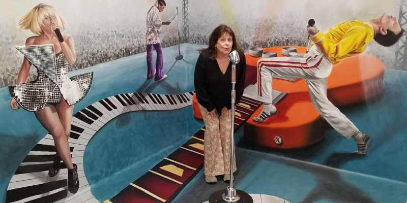 Rebecca Forstadt Museum of Illusions Hollywood